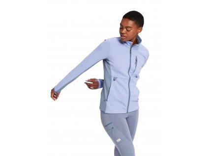Dámská Mikina Burton Multipath Full-Zip Fleece Foxglove Violet / Folkstone Gray
