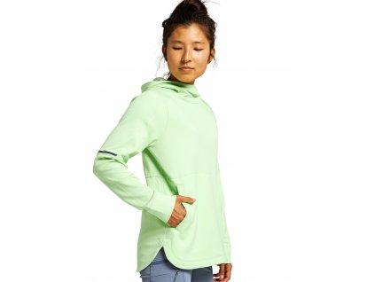 Dámská Mikina Burton Multipath Grid Fleece Pullover Paradise Green Heather
