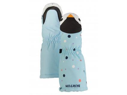 Dětské Palčáky Burton Toddlers' Grommitt Mittens Crystal Blue