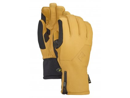 Pánské Rukavice Burton [ak] GORE‑TEX Guide Glove Raw Hide