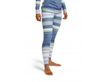 Dámské Termoprádlo Burton Lightweight X Base Layer Pants Folkstone Blanket Stripe