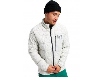 Pánská Bunda Burton [ak] Baker Stretch Insulated Jacket Lunar Gray