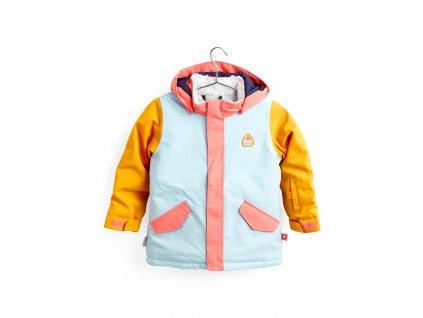 Dětská Bunda Burton Toddlers' Parka Jacket Crystal Blue Multi