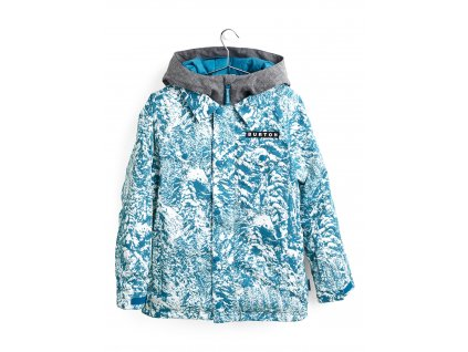 Chlapecká Bunda Burton Uproar Jacket Blue Blotto Trees