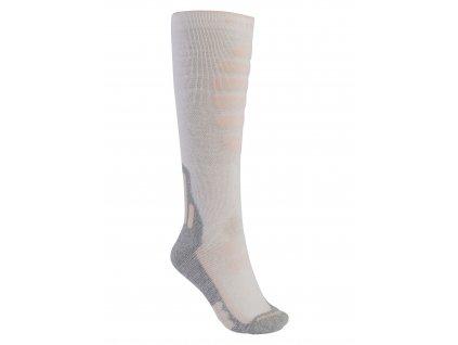 Dámské Ponožky Burton Performance + Midweight Sock Stout White