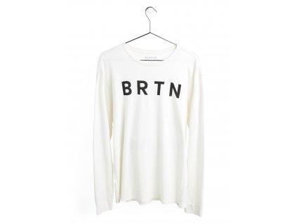 Tričko Burton BRTN Long Sleeve T-Shirt Stout White