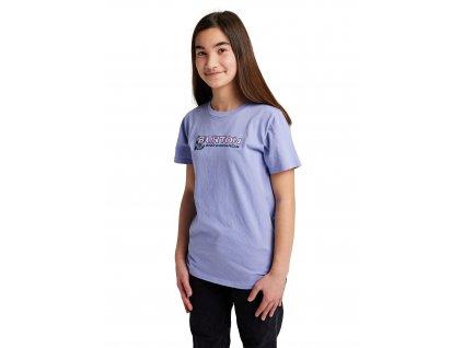 Dětské Tričko Burton Pinecrest Short Sleeve T-Shirt Foxglove Violet