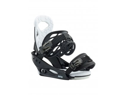 Dětské Snowboardové Vázání Burton Smalls Re:Flex Black