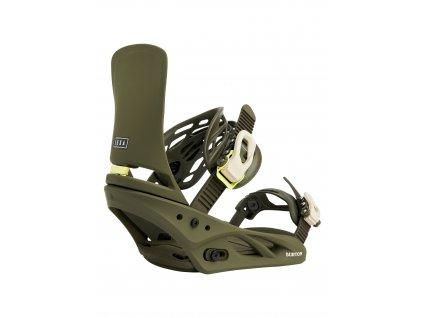 Dámské Snowboardové Vázání Burton Lexa Re:Flex Dark Green