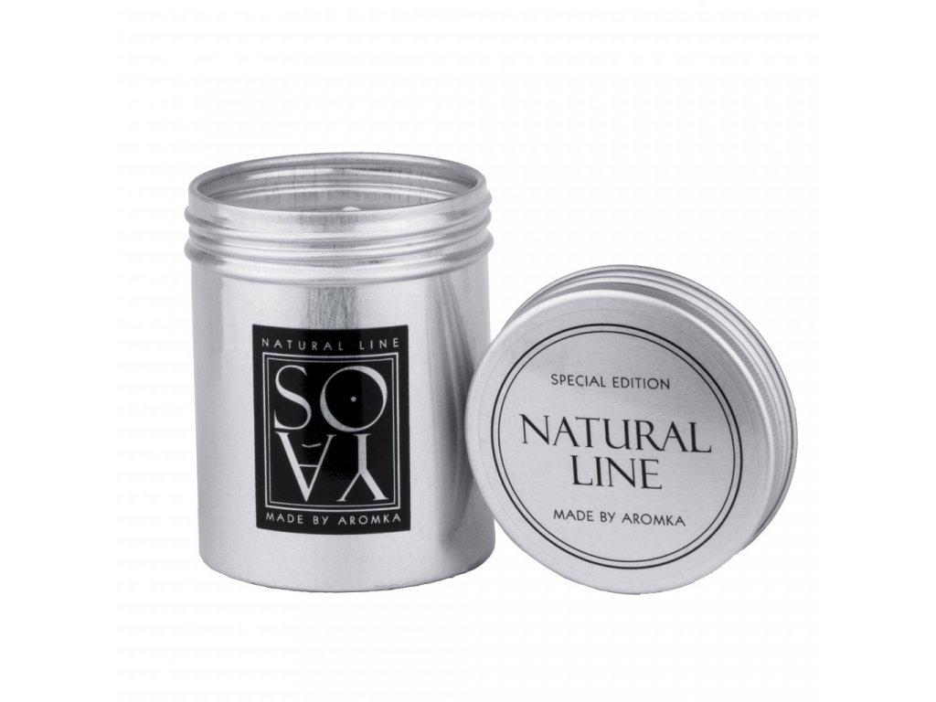 prirodni vonna svicka sojova aromka plechovka s vikem