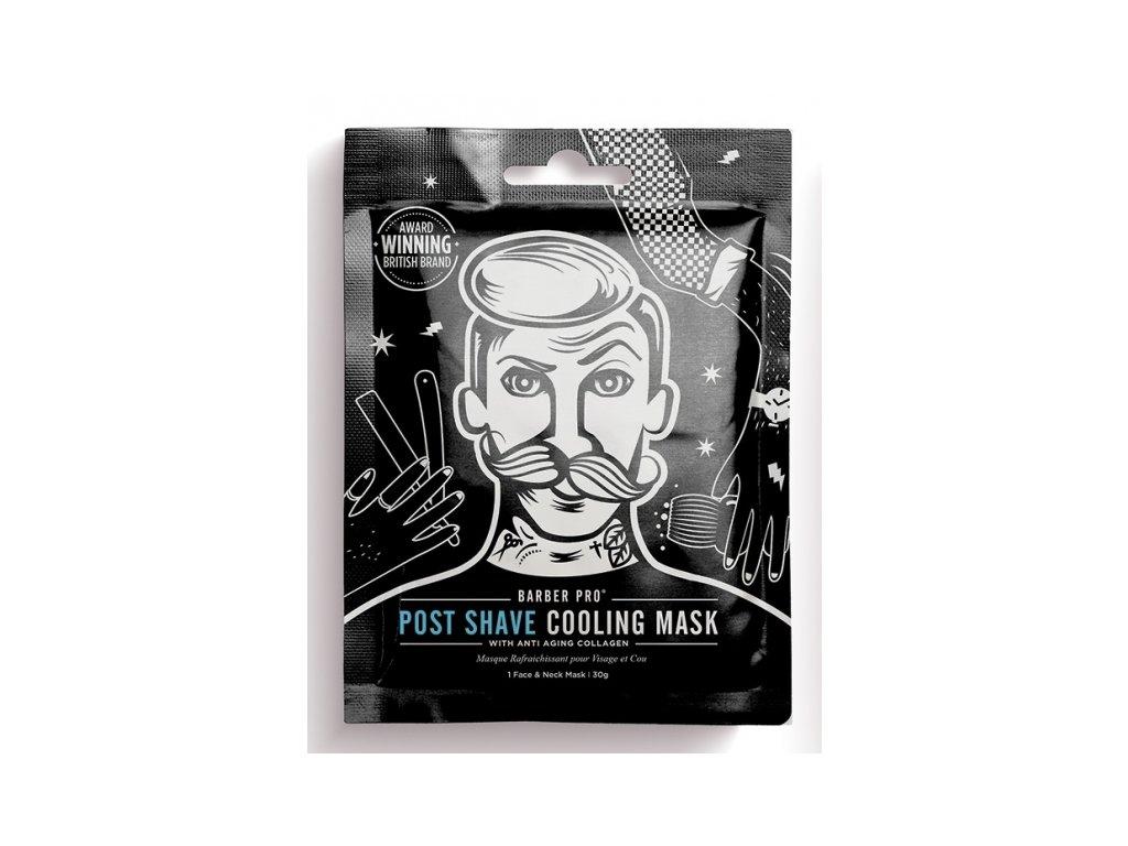 po holení barberpro panska textilni pletova maska po holeni 30g