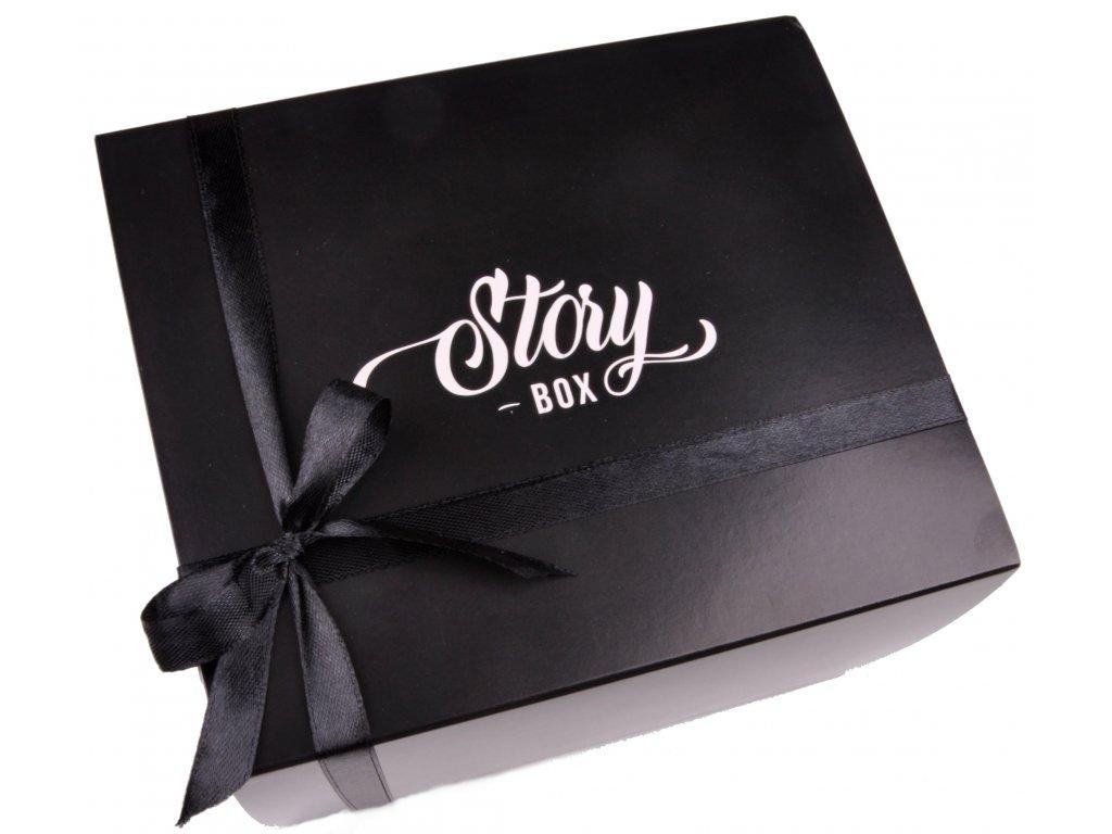 Malá krabička černá StoryBOX