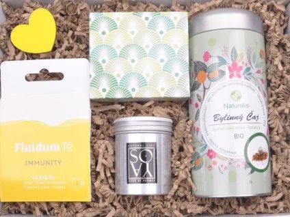 Dárkový balíček Čajová chvilka - bylinný čaj StoryBOX®