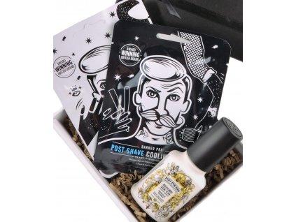Dárkový balíček Domácí salón pro muže StoryBOX®