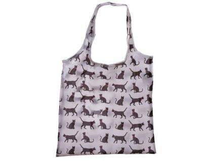 Skládací nákupní taška Kočka 2