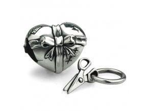 srdce nůžky
