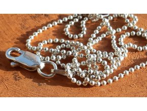 Jemný náhrdelník 40 cm