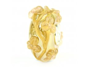 GOLD OIL BABY PINK FLOWERTWIG G191217