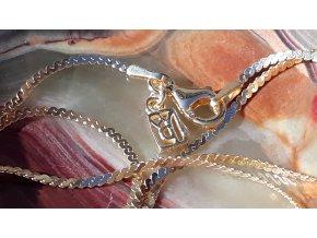 Epiphany náhrdelník- zlacené stříbro
