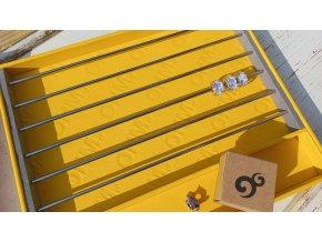 ŽLUTÉ ukládací plato  OHM - storage tray YELLOW