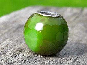 zelený achát