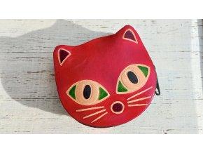 kočka červená - šperkovnička