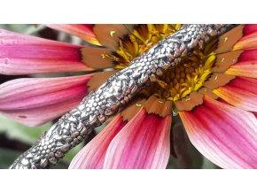 Slunečnicový bangle - Sunflower Bangle L