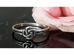 Keltský uzel prsten - Knot Ring 55