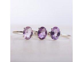 prsten amethyst