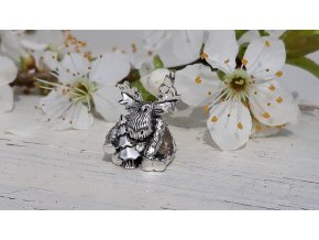 Letní los - Summer Moose Bead Charm - Butterfly Forest