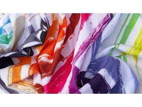 Duhový multifunkční šátek- nákrčník
