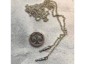 Náhrdelník -Neklace Chain and Lock
