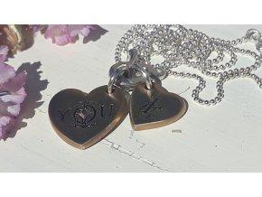 náhrdelník TY a JÁ  - WP You & I Necklace