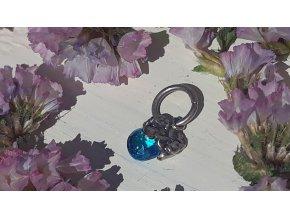 drobný modrý přívěsek - WP Tiny Light Charms