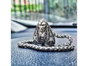 Můra karabinka - MOTH silver lock