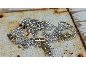 Rozsypané hvězdy - Bar Star Scatter Chain 40 cm