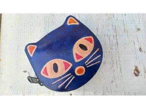 Modrá kočka- šperkovnička