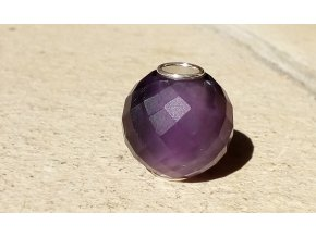 purple crystal- koule