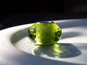 lime green quartz