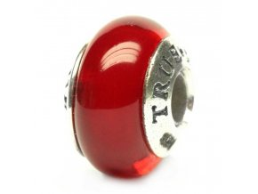 793050 red bead glass rudolf