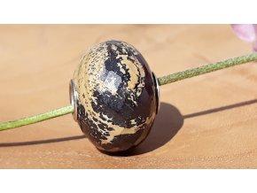 obrázkový jaspis broušený