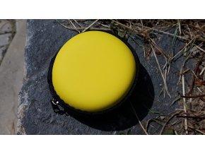 Kulatá šperkovnička - žlutá