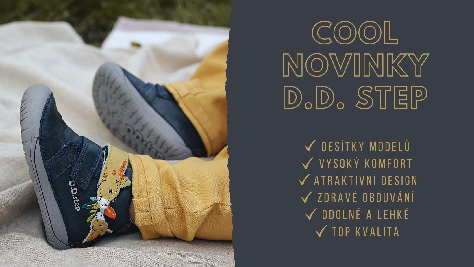 D.D. Step celoroční obuv