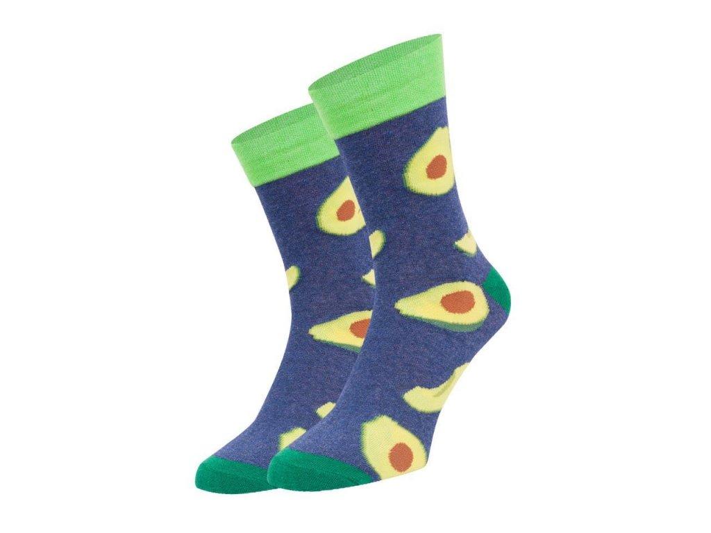 Ponožky spoksy Avokado