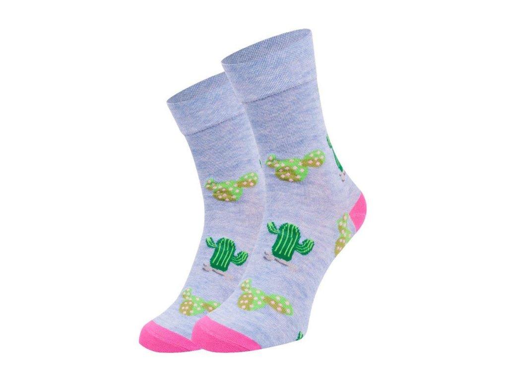 Ponožky spoksy Kaktus