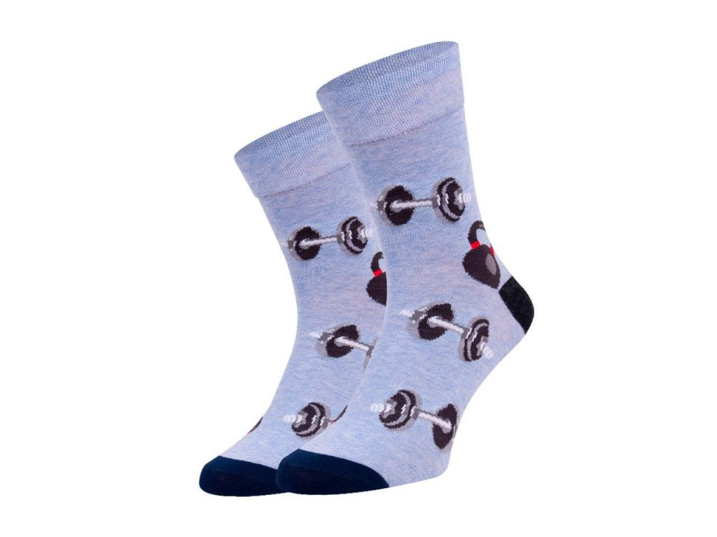 Ponožky spoksy Činka šedá