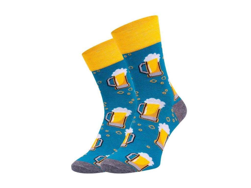 Ponožky spoksy Pivo tm.