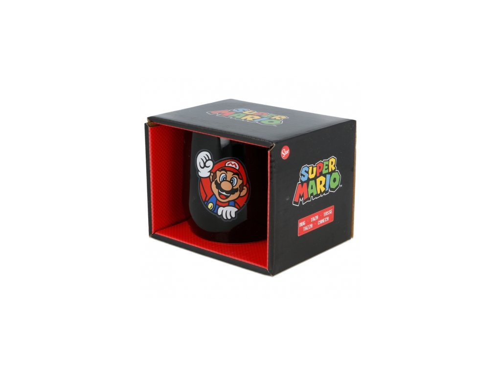 ceramic nova mug 12 oz in gift box super mario