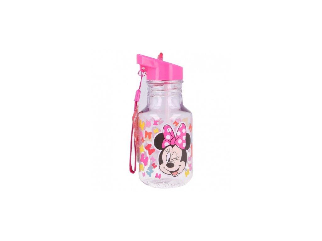 light bulb tritan bottle 370 ml minnie so edgy bows