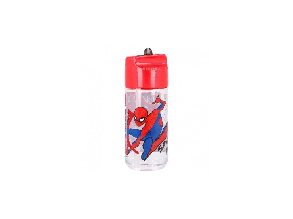 tritan hydro bottle 430 ml spiderman urban web
